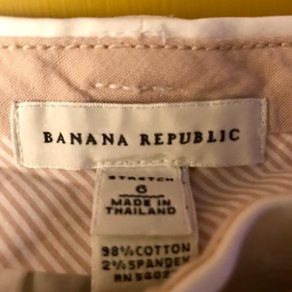 Banana Republic Pants - Banana Republic White Shorts